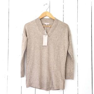 🆕Listing! Cashmere and wool oatmeal sweater